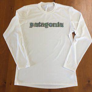 Patagonia Capilene Logo Silk Base - Mens M